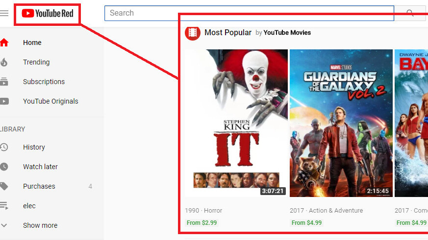 Google is serving ads in YouTube Red – even though it promises not to
