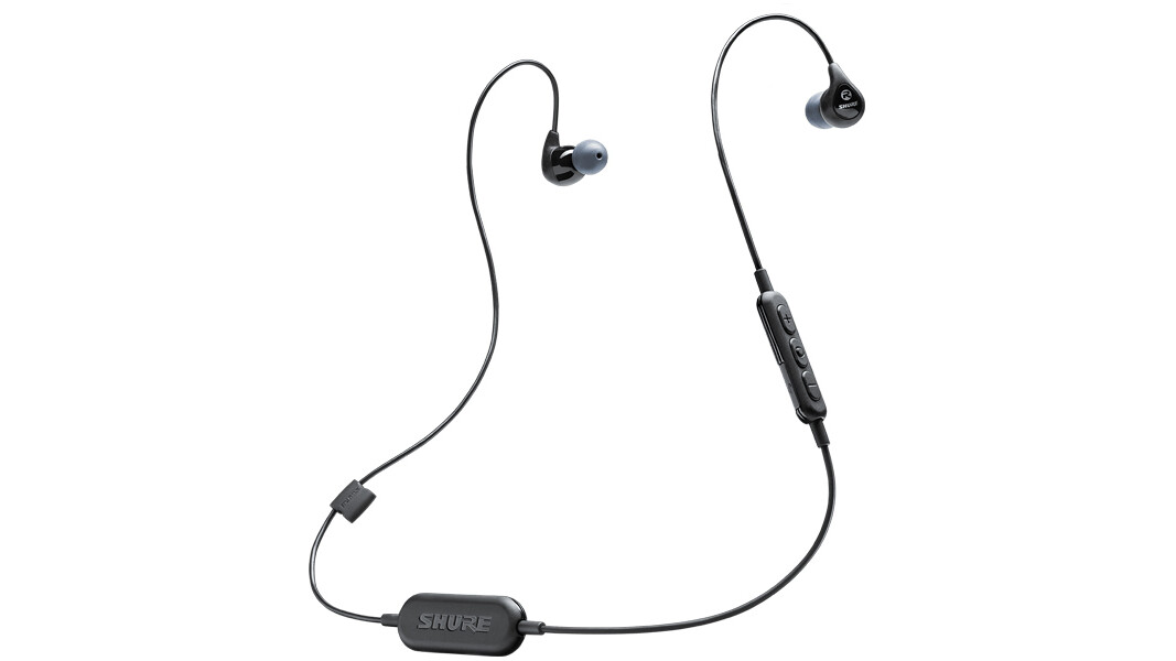Shure enters the Bluetooth earphone game with its $100 buds