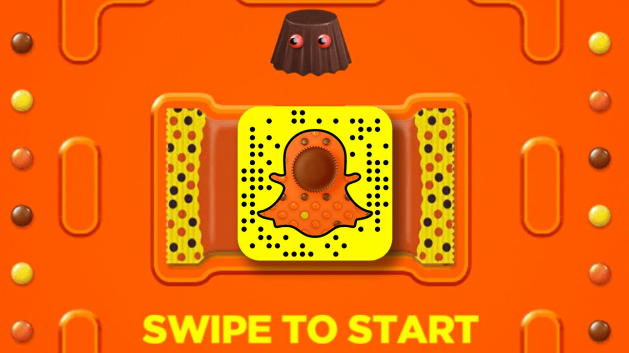 Snapchat gets a chocolatey version of Pac-Man thanks to Reese's