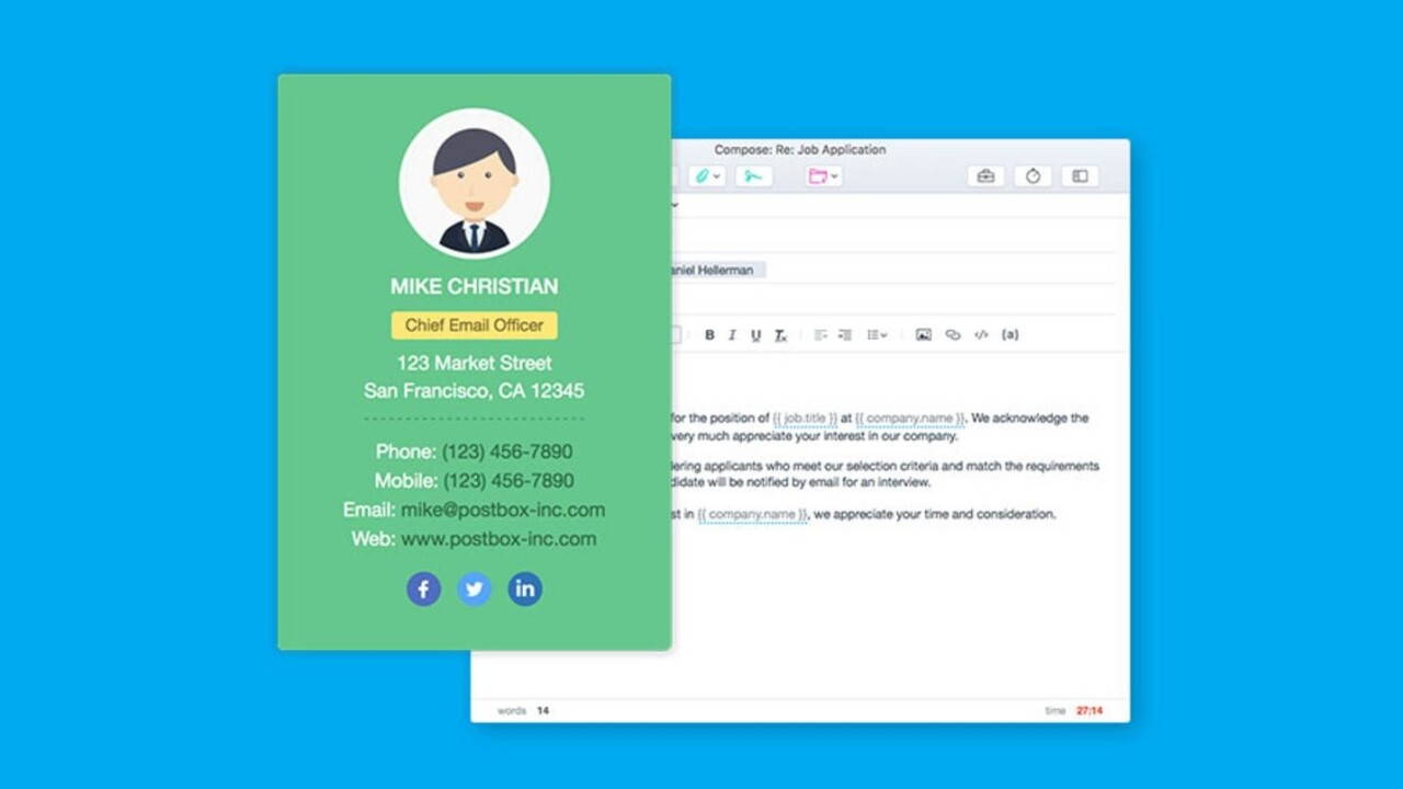 Clean up your email (and your life) with Postbox 5 for Mac or Windows, only $29.99