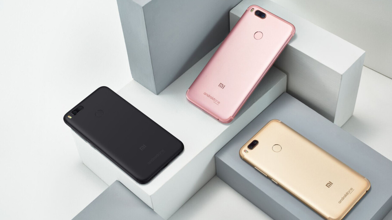 Xiaomi teams up with Google on the $234 Mi A1, its first Android One phone