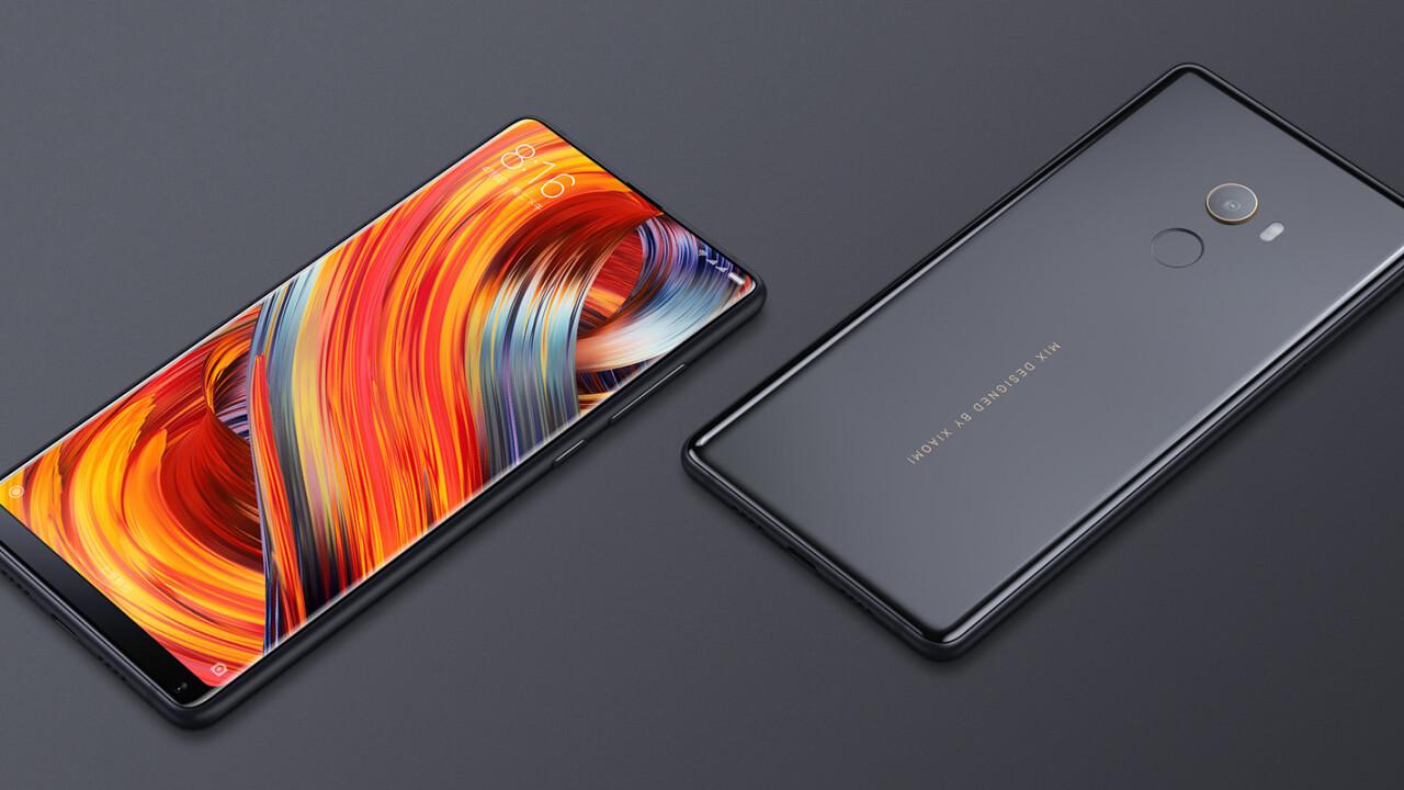 Xiaomi's Mi Mix 2 is a bezel-less powerhouse at just $500