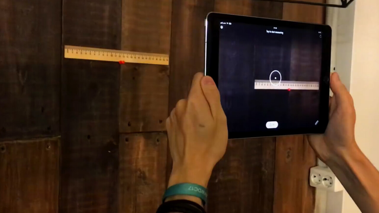 The best thing about iOS 11 might be this augmented reality ruler
