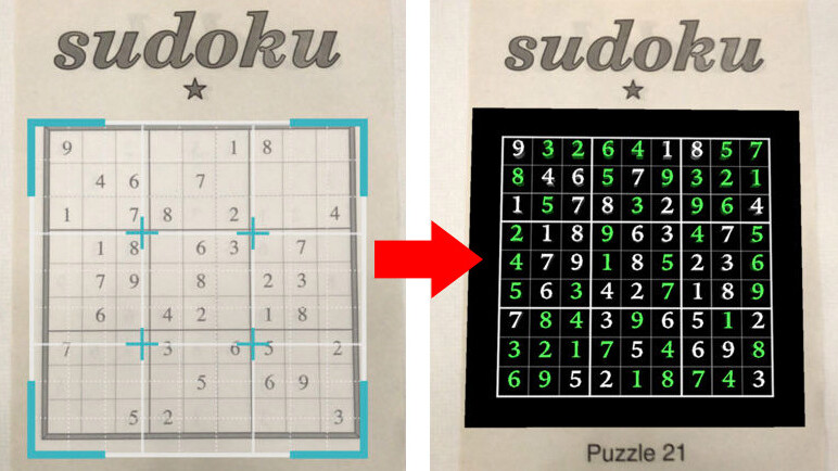 This sudoku app shows how incredible ARKit is – but it totally spoils the game
