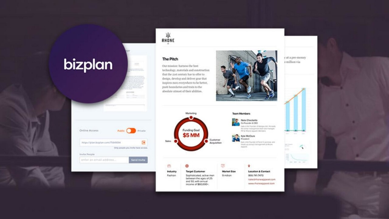 Craft a professional business plan that works today with Bizplan Premium – for under $70