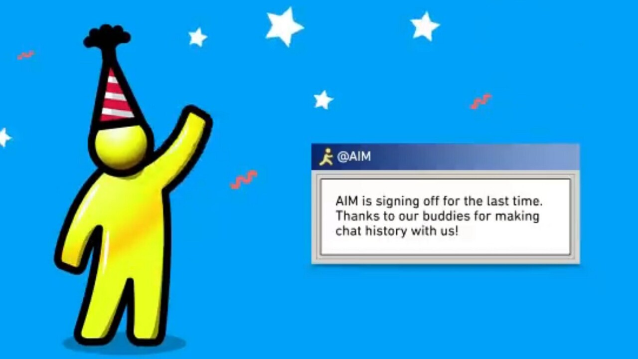 AOL Instant Messenger to shut down after 20 years