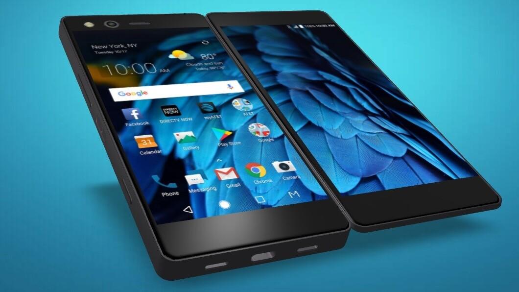 ZTE actually built a folding phone that looks legit