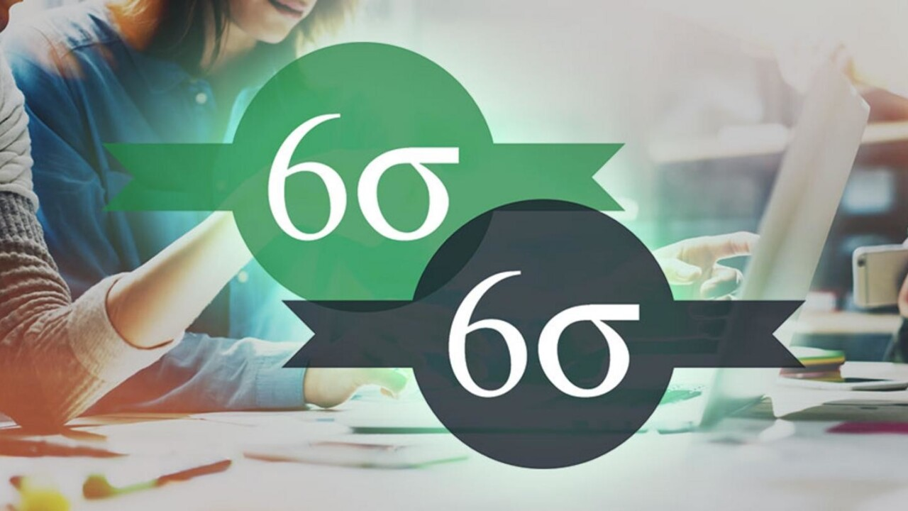 Master the ways of Six Sigma and become a black belt-certified master for just $24