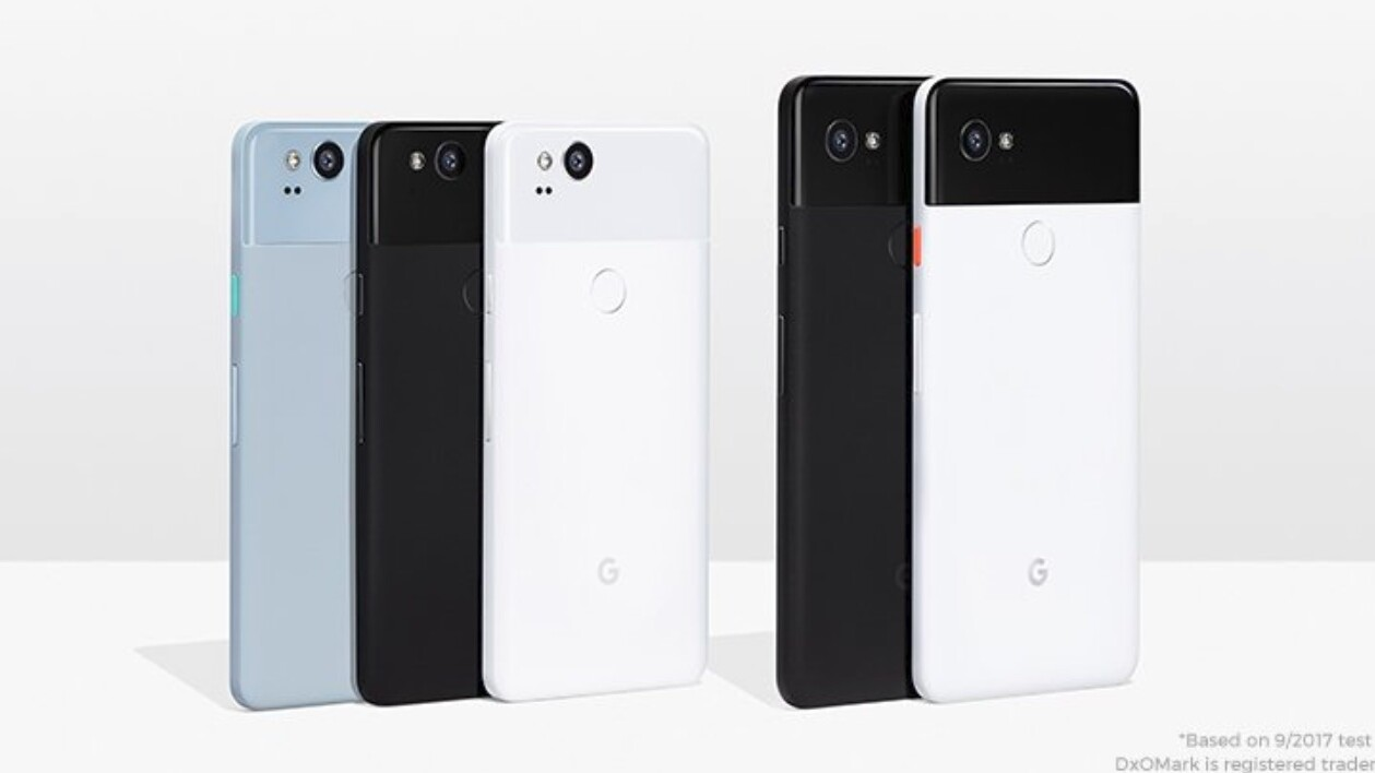 Google reveals Pixel 2 and Pixel 2 XL with stereo speakers and portrait mode
