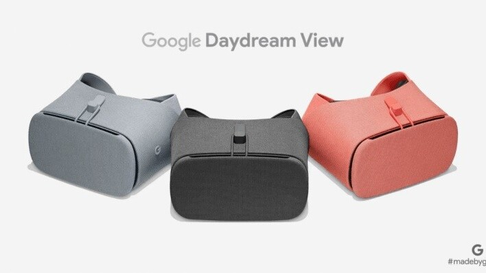 Google debuts the updated Daydream View VR headset