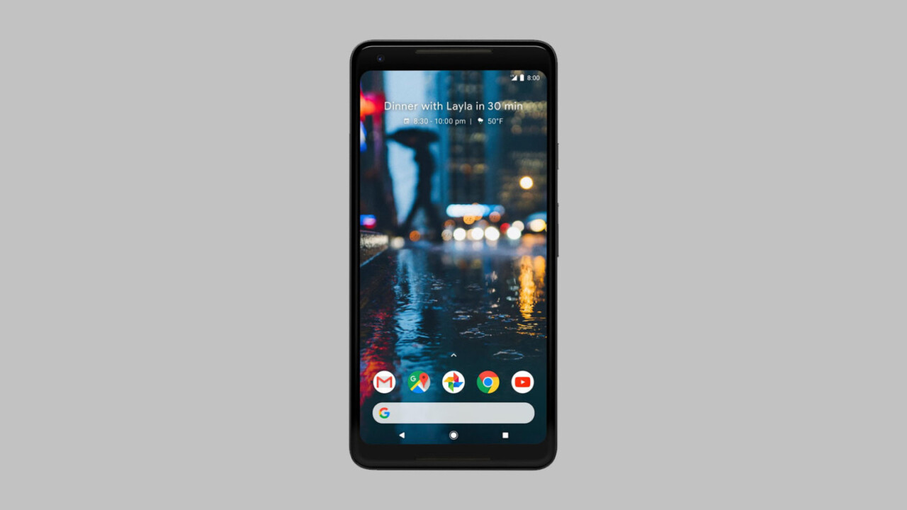 Here's our best look at Google's Pixel 2 XL yet