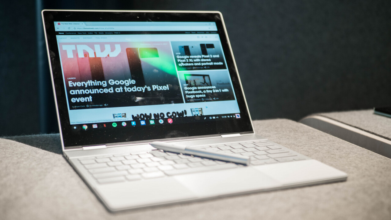 Google may announce two new Pixelbooks in October, including a Surface clone