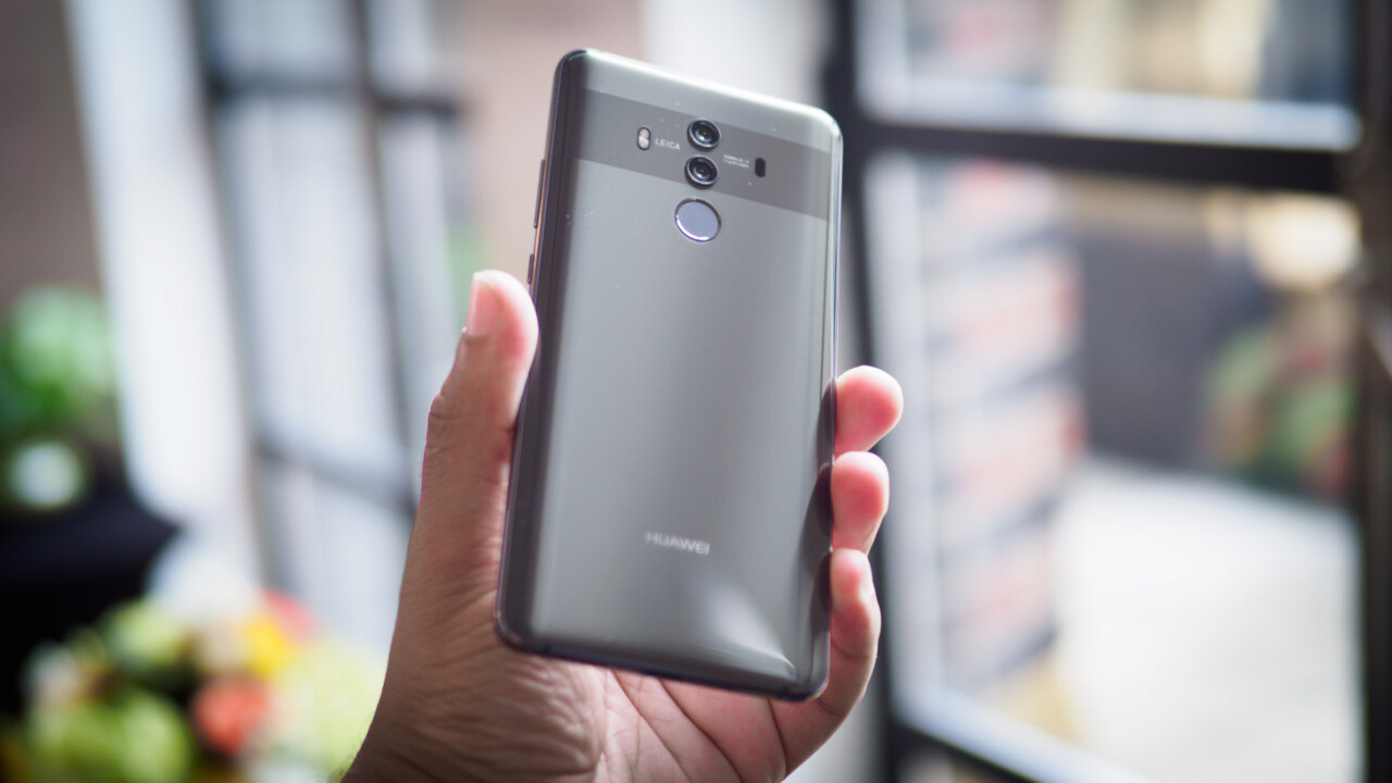 Huawei Mate 10 hands-on: Tiny bezels, AI smarts, and weird choices