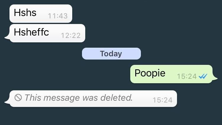 WhatsApp officially launches unsend feature to delete messages