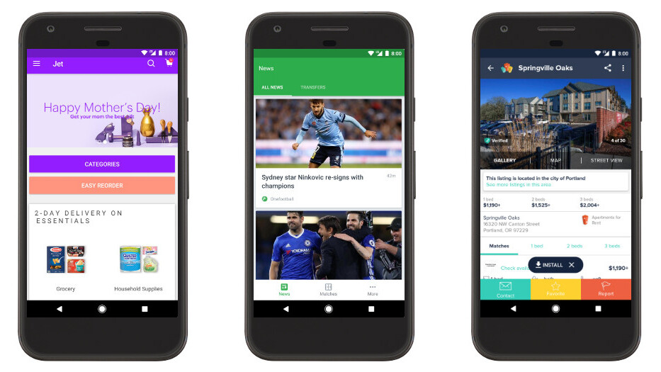 Google Play will now let you try select Android apps before installing them