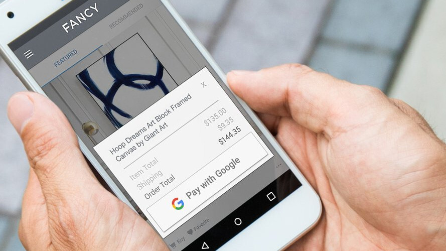 Pay with Google rolls out to help you blast through checkout pages
