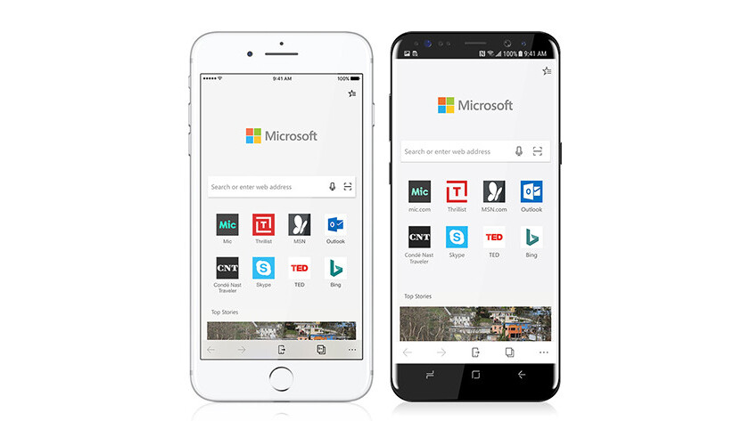 Microsoft Edge actually belongs on Android and iOS