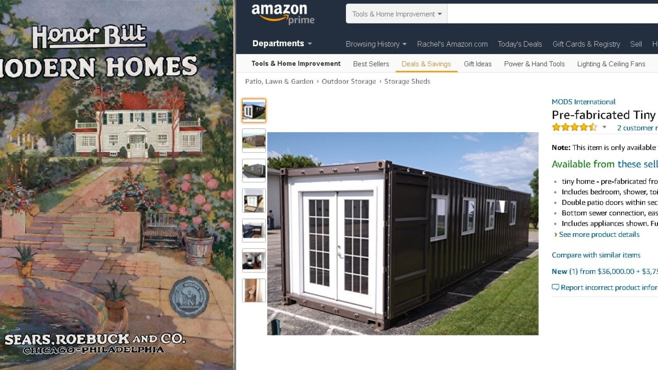 Amazon's pre-fab houses are so 19th century Sears catalog