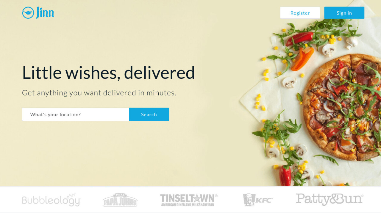 On-demand delivery app Jinn has permanently shut down.