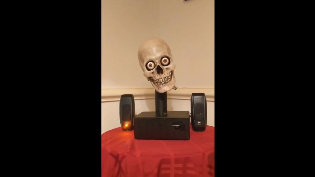 Hacker pieces together Alexa-powered talking skull