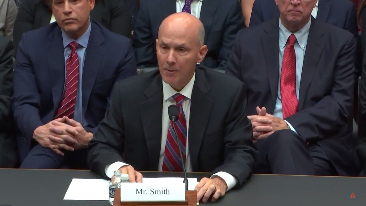 Former Equifax CEO faces Congressional probe into data breach