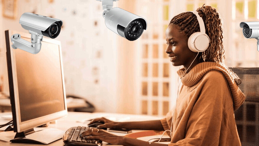 Pursuing a degree online is cool, but the exams totally ruin my sense of privacy