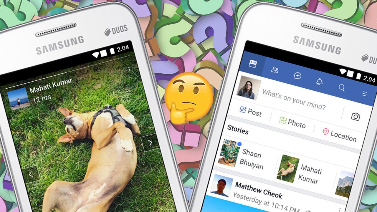 Facebook rolls out 'Stories' to FB Lite users… and we really don't know why