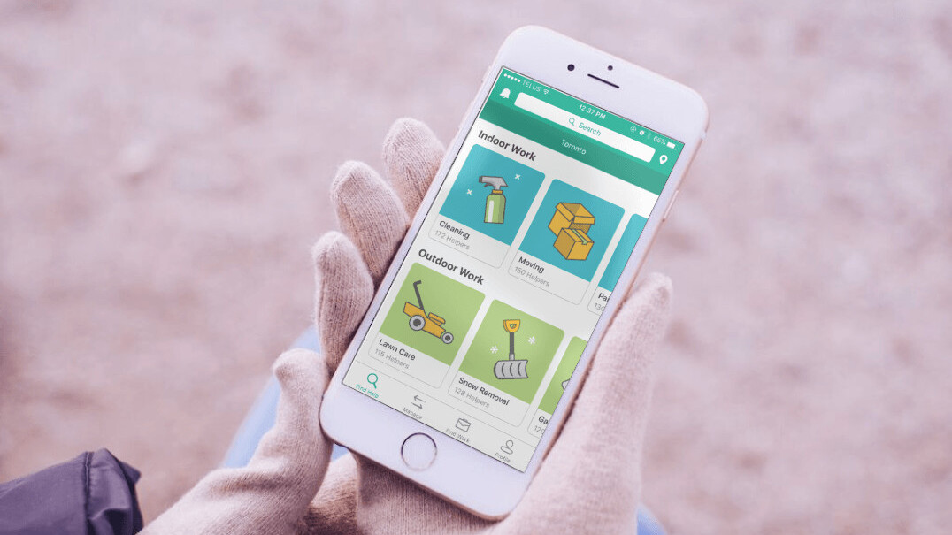 Adam Helps is a kinder, ridiculously Canadian version of TaskRabbit
