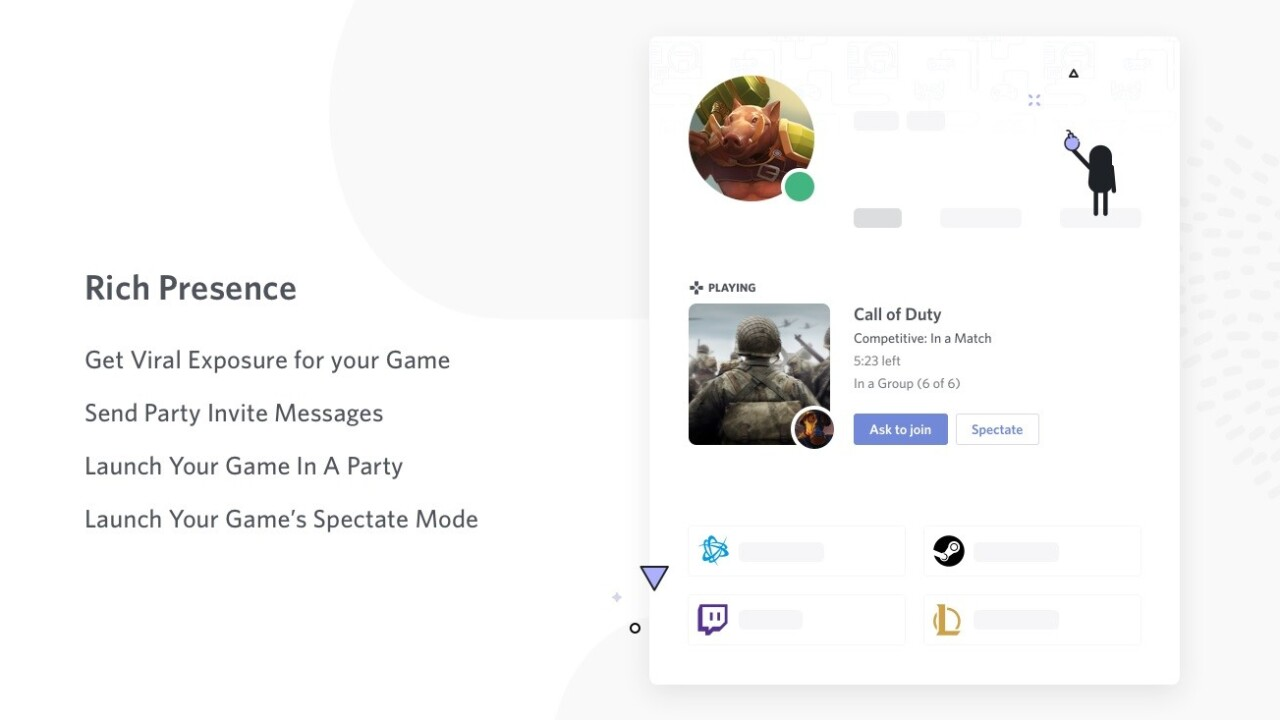 Discord now lets you jump into your friend's games