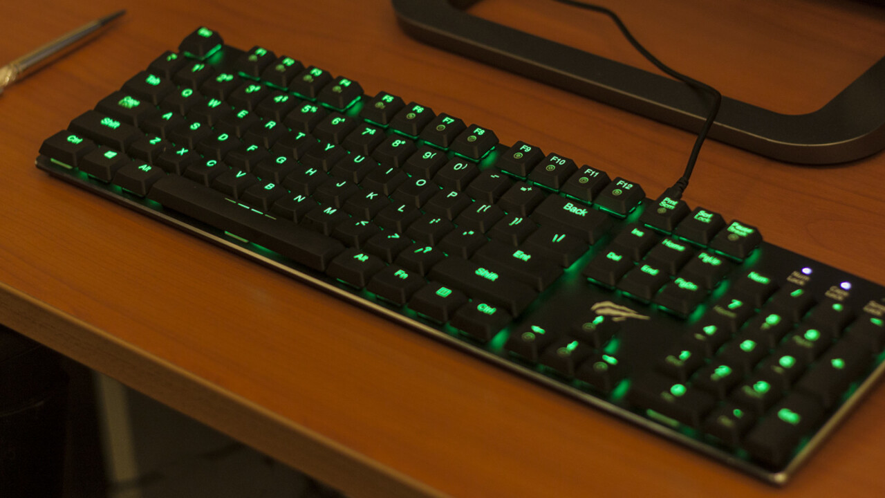 Havit's RGB mechanical keyboard is a delight for gamers on a budget