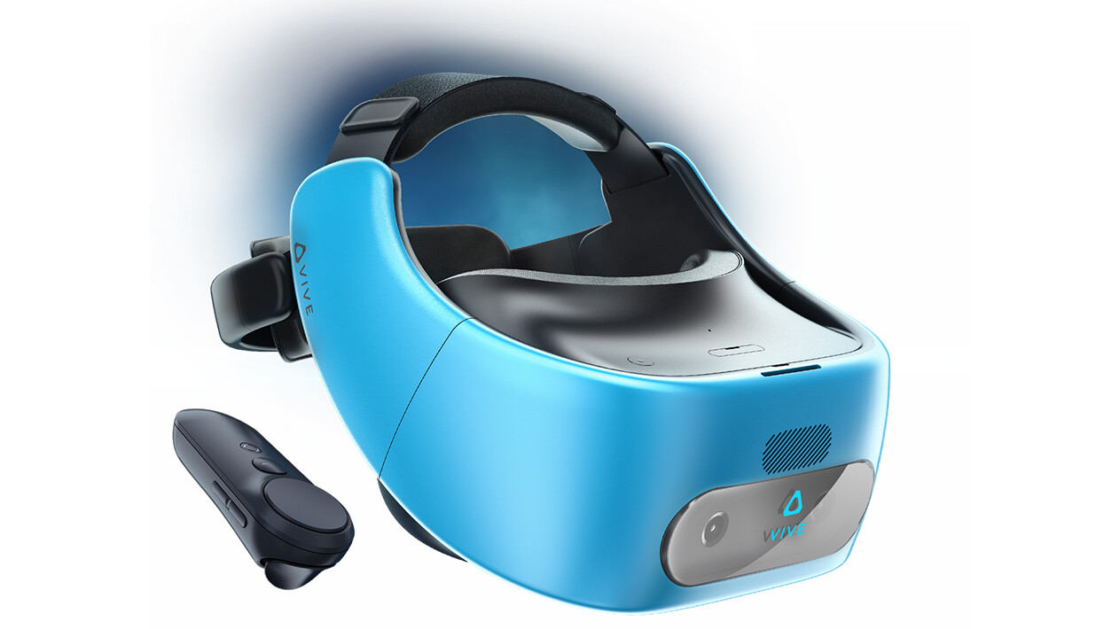 HTC reveals its Vive Focus standalone VR headset