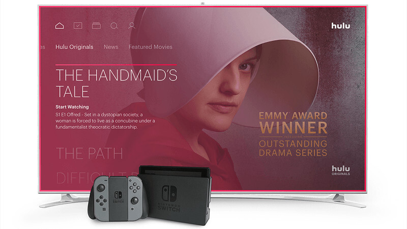 Nintendo Switch is finally getting video apps, starting with Hulu