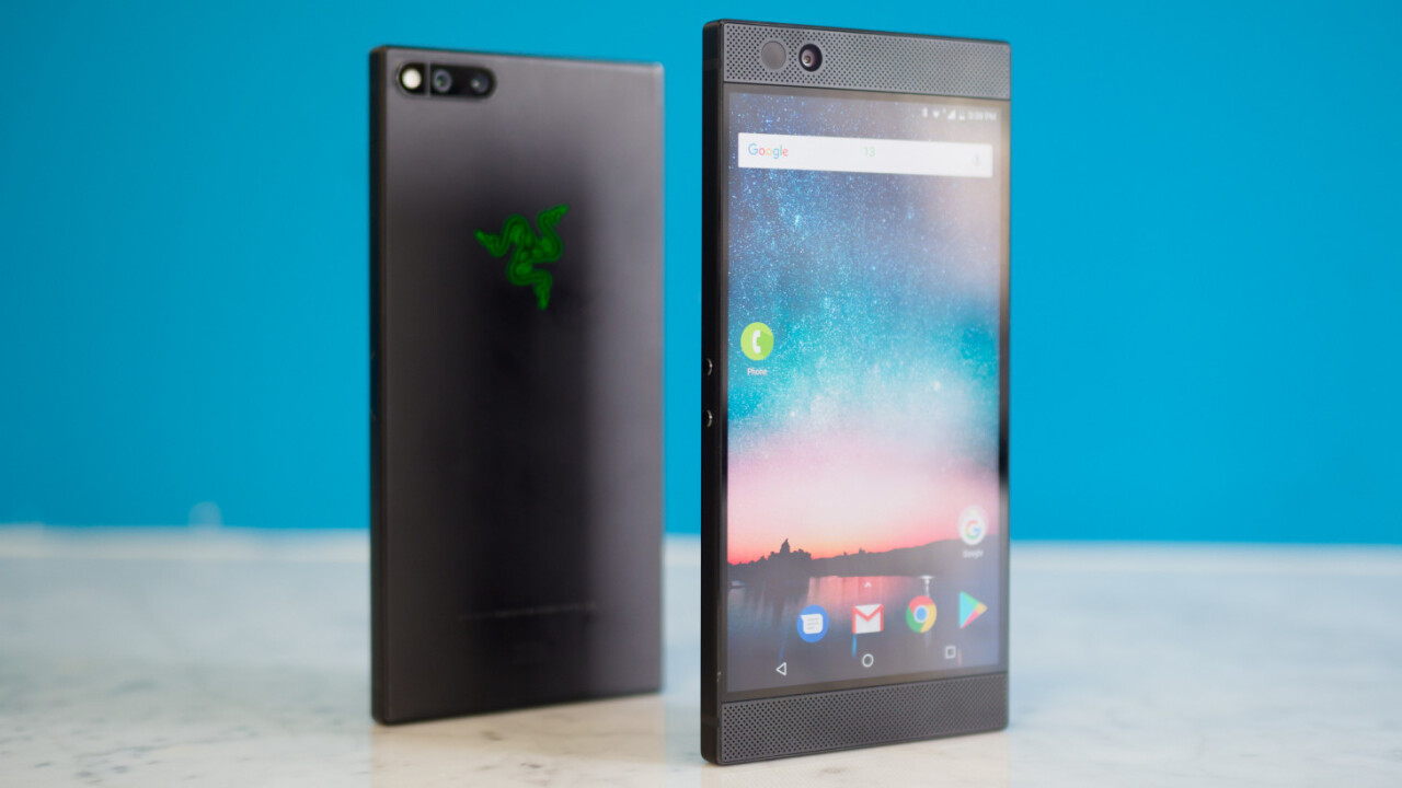 Here's our best look at the Razer Phone 2