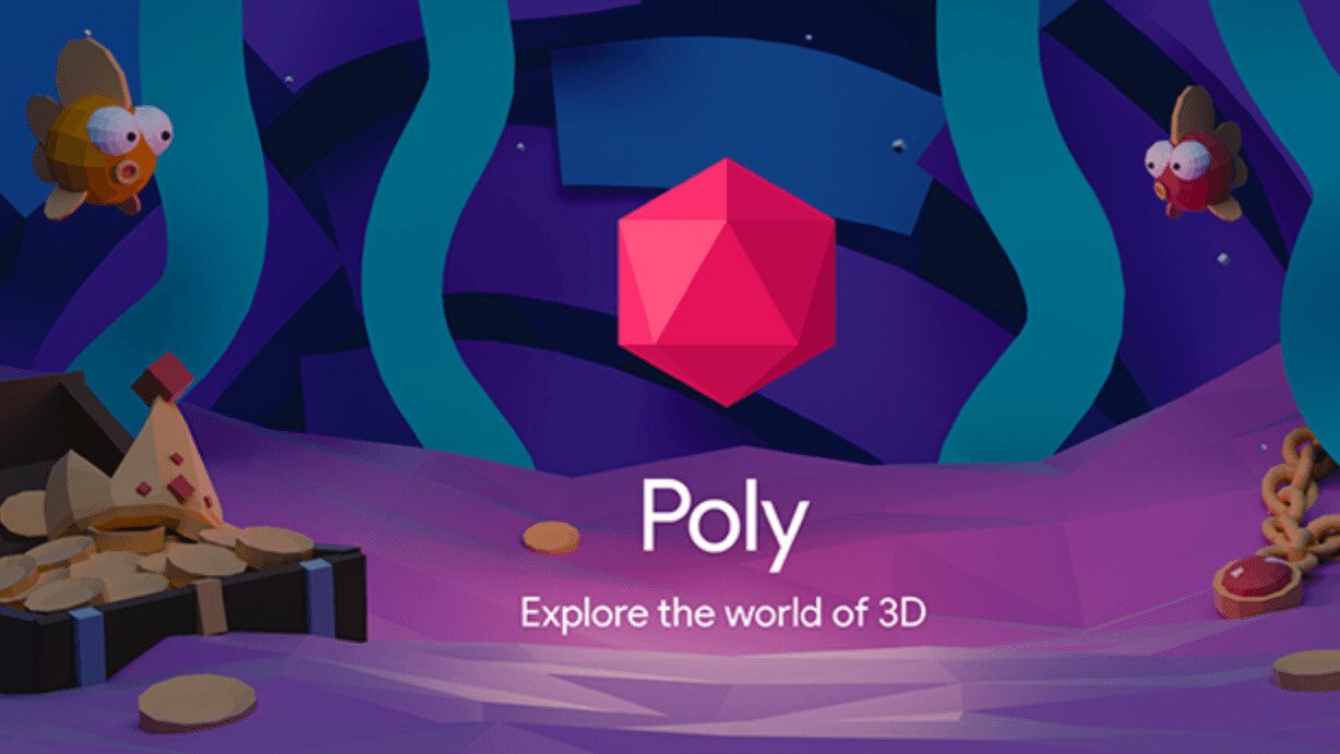 Google's 'Poly' is a cross-platform 3D library for VR/AR — and it's free