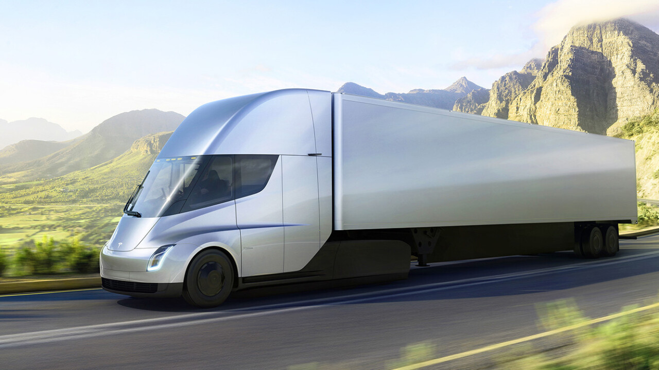 Tesla's electric Semi does 0-60mph in 5 seconds, and 500 miles on a single charge