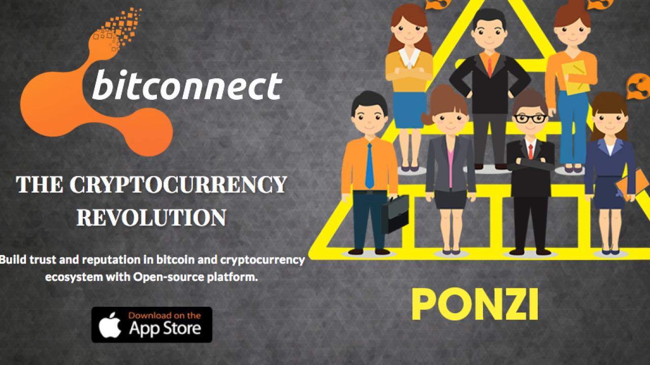 BitConnect is a Ponzi scheme, Ethereum and Litecoin founders warn