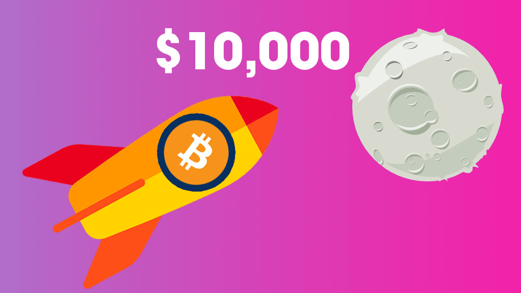 Bitcoin keeps crushing records as its price hits $10,000