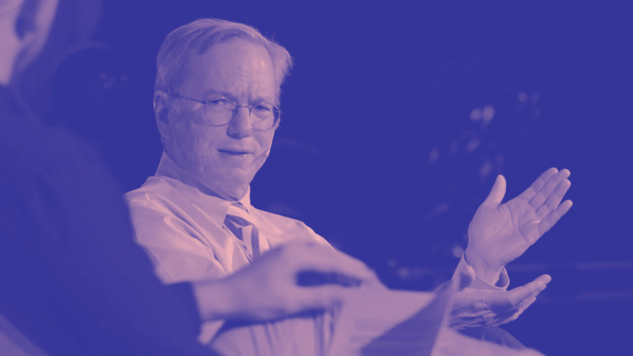 Eric Schmidt is stepping down as Alphabet's executive chairman