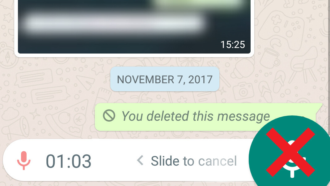 WhatsApp is testing a way to send voice messages without that dumb button