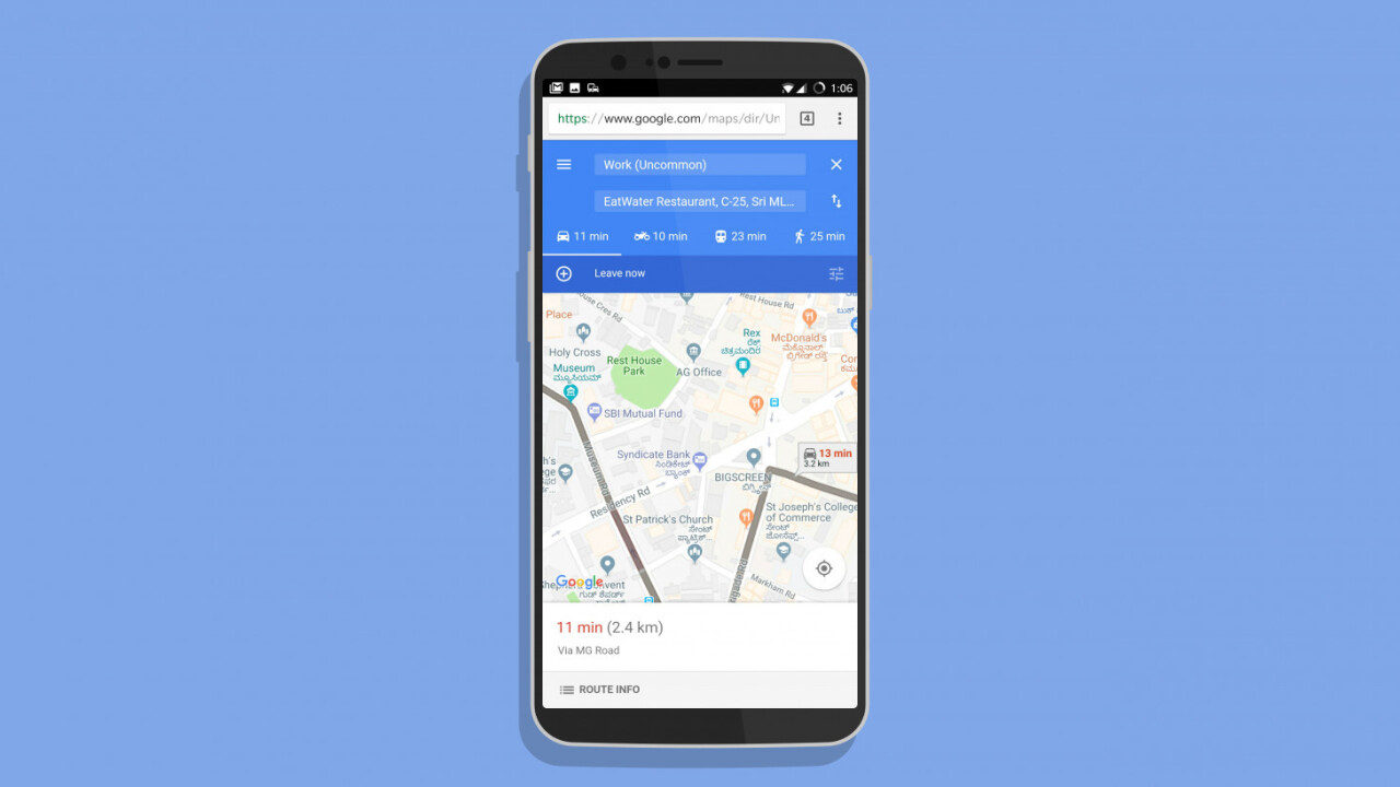 Google's lightweight Maps Go is just a Progressive Web App, here's how to try it
