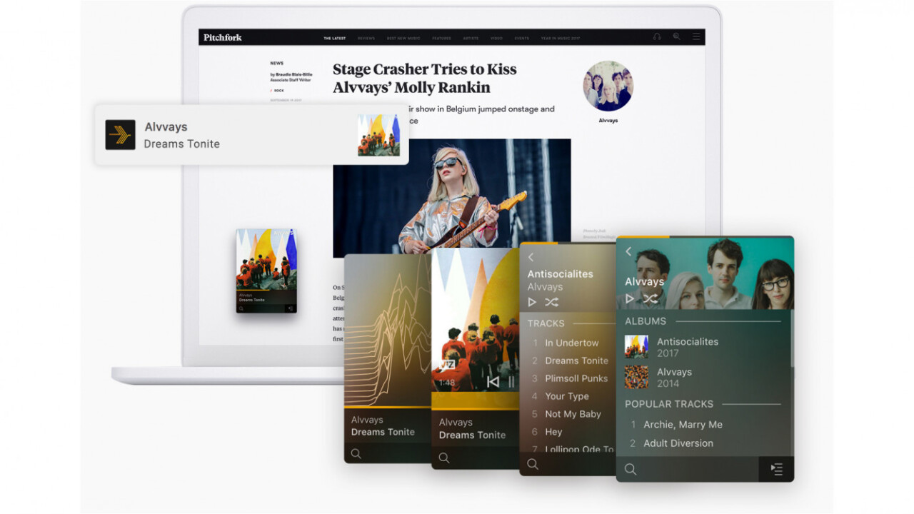 Plex' new Winamp-inspired music player for your desktop is pretty, but needs work
