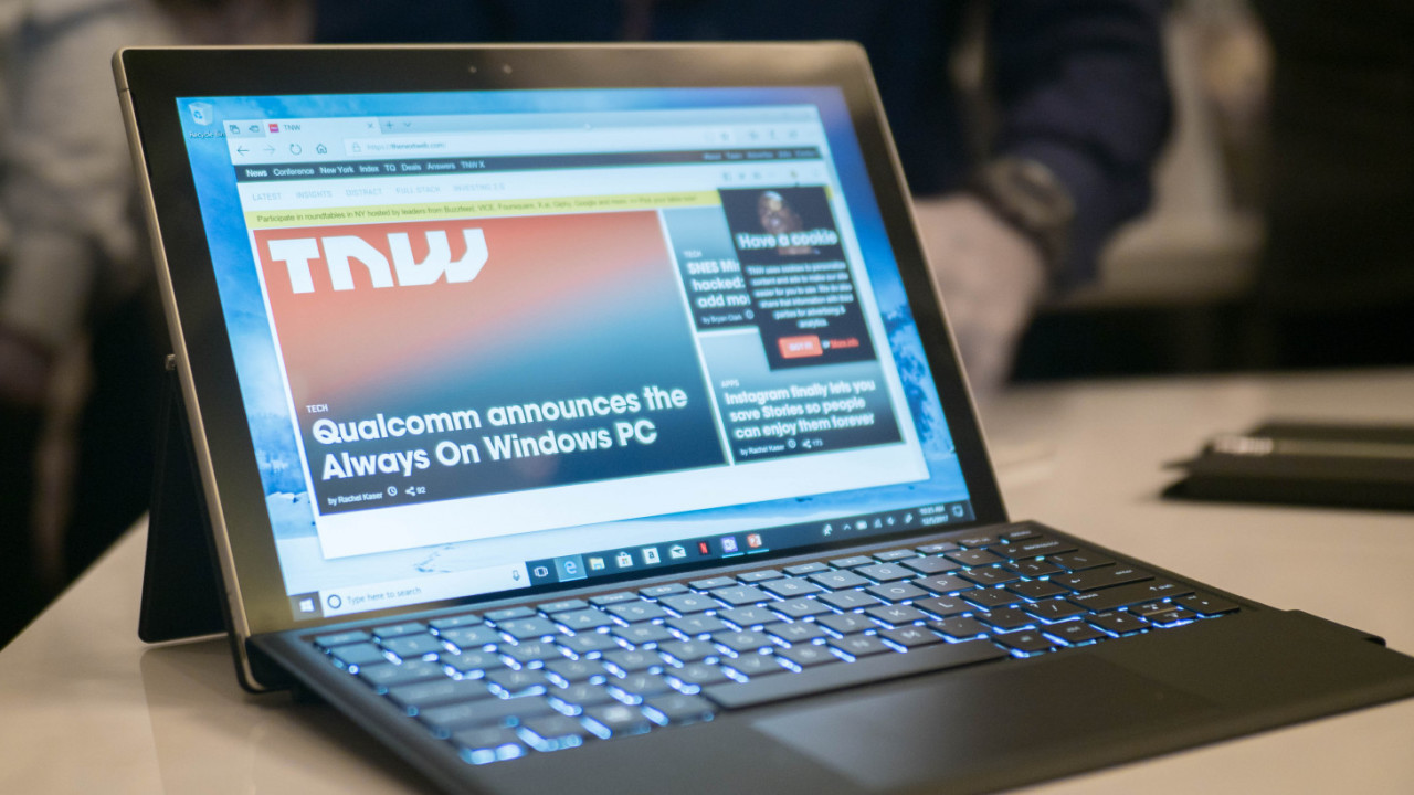 Hands-on: Windows 10 on Snapdragon processors could change everything (eventually)