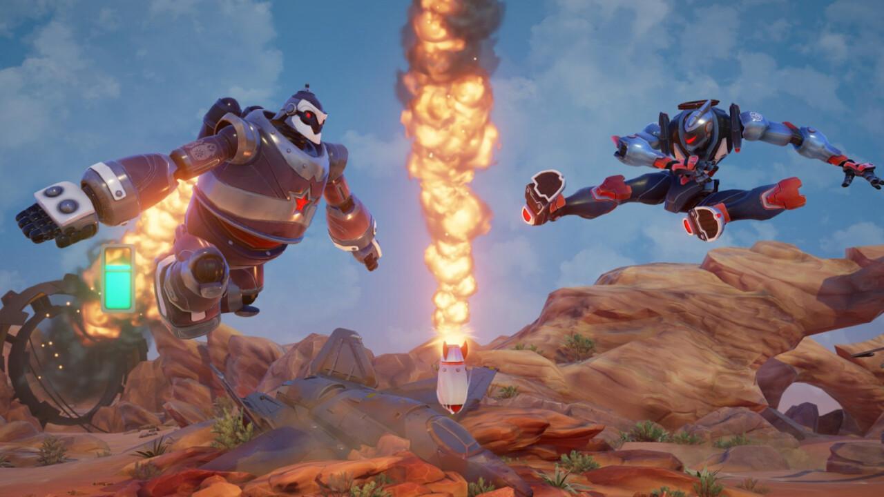 Canceled robot brawler Rising Thunder returns as a free PC game next month