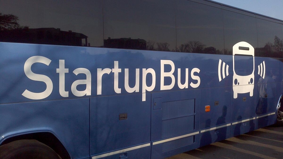 What happens when you put a hackathon on a bus? An awesome podcast