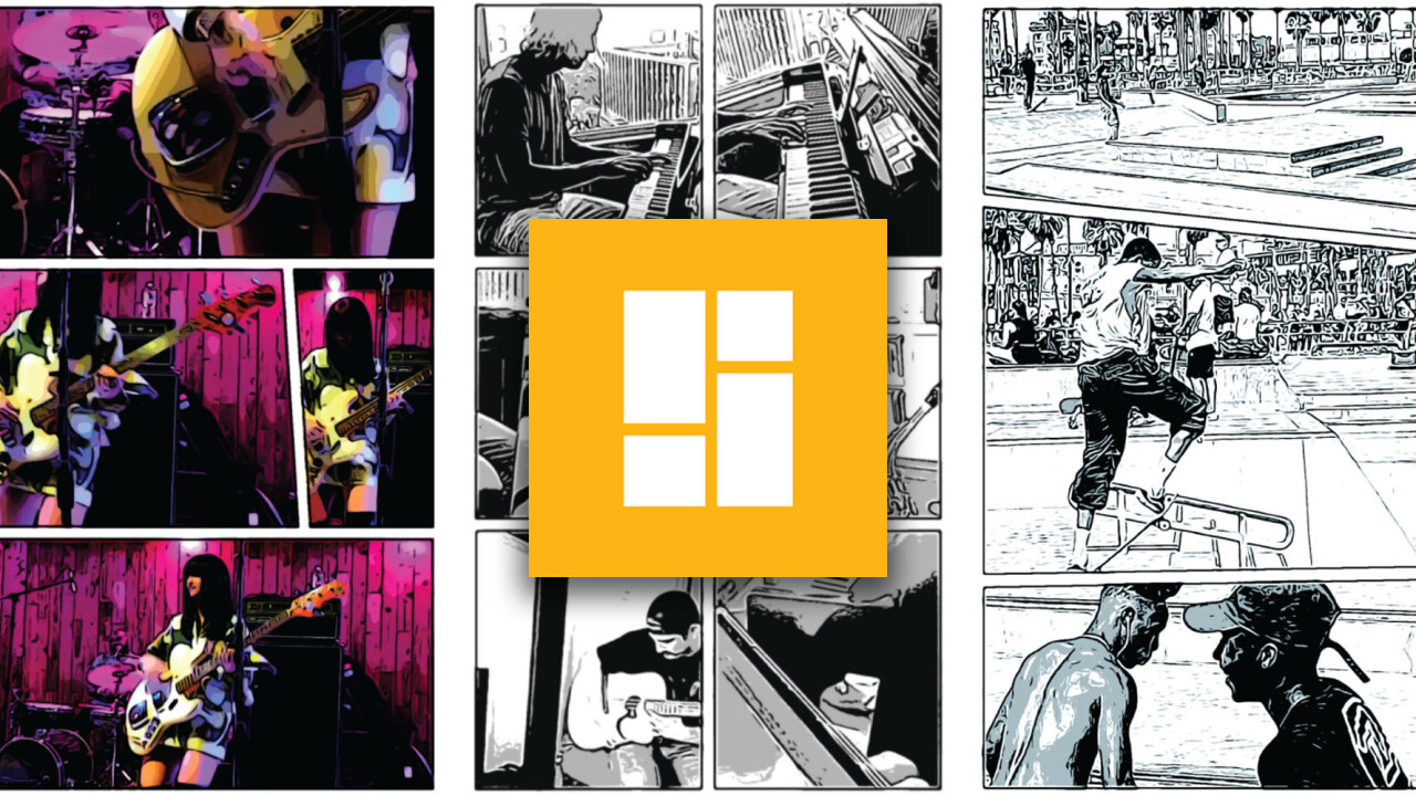 Google Storyboard turns your videos into comic strips