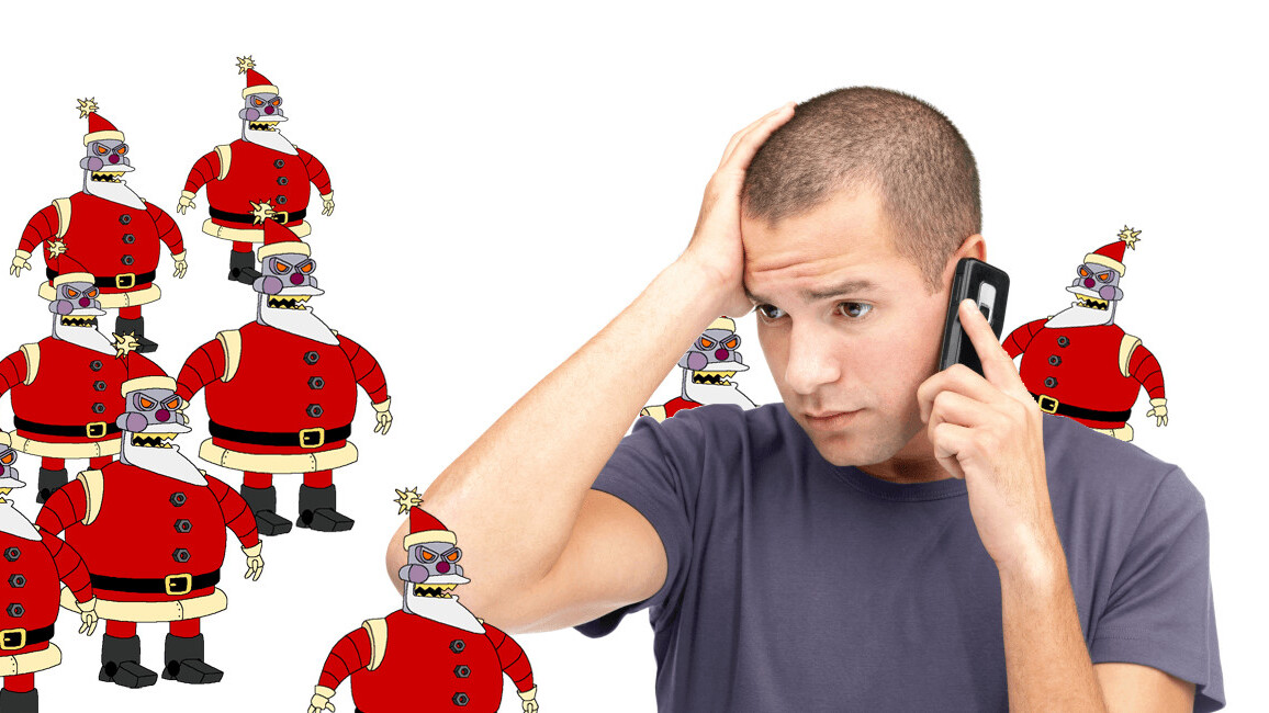 These heroes sent an army of bots to save your Christmas from pushy telemarketers
