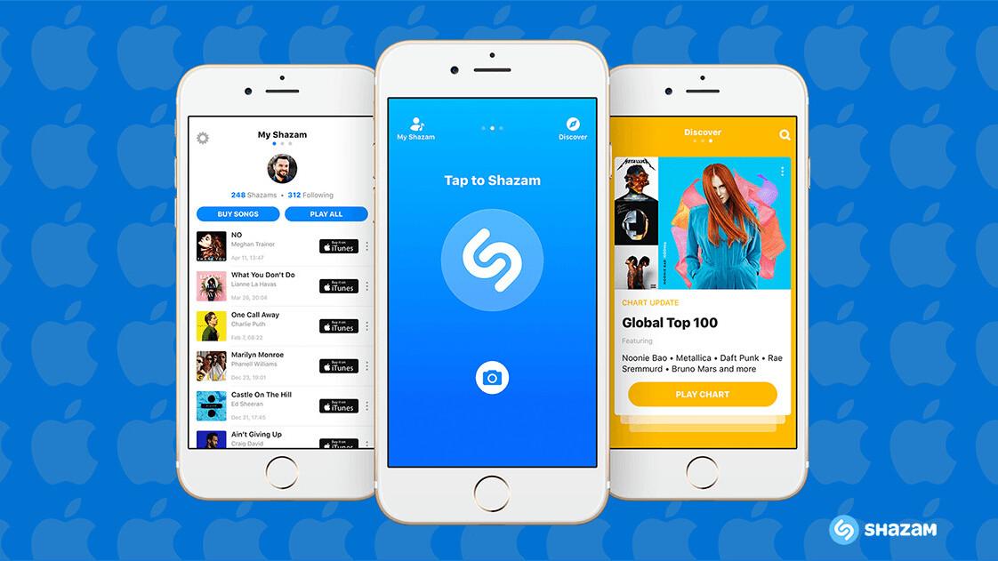 Apple to buy music discovery platform Shazam