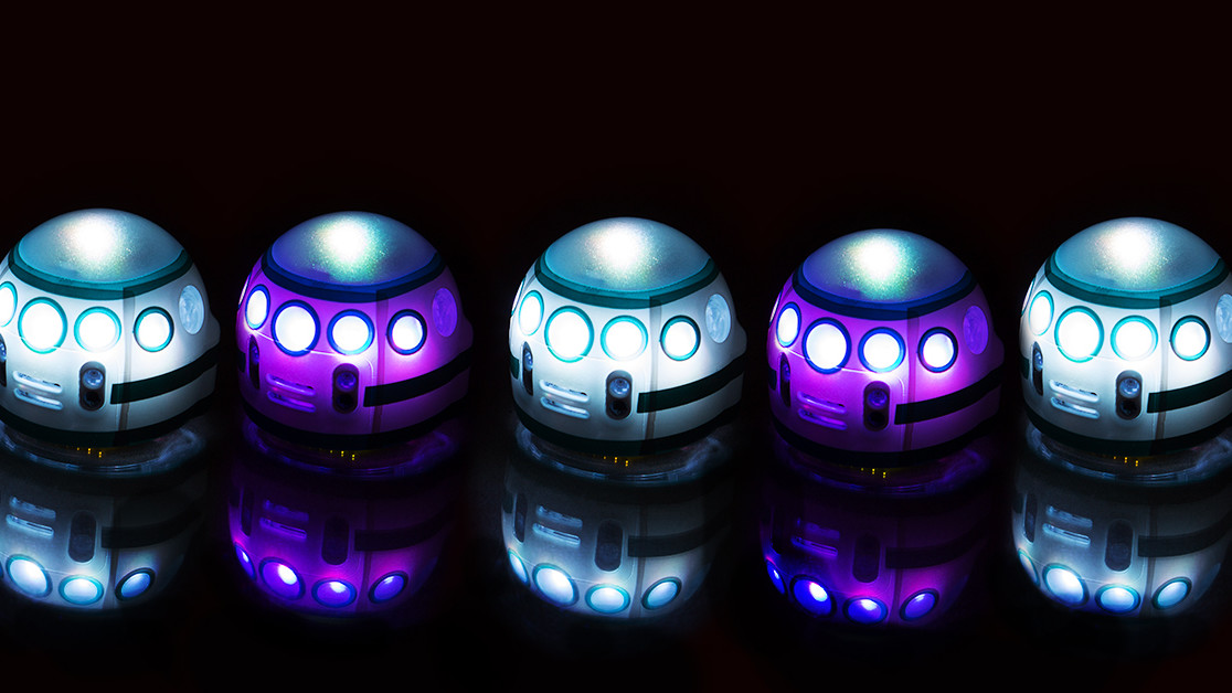 Ozobot Evo is a pocket-sized robot you can program with a Sharpie