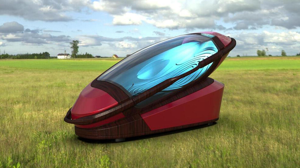 Literal death machine offers a way to peacefully slip out of existence
