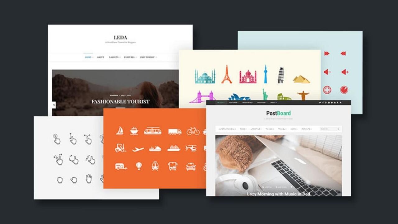 Get a boatload of awesome licensed design assets for life for under $20